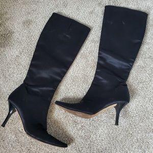 Isaac mizrahi heeled boots